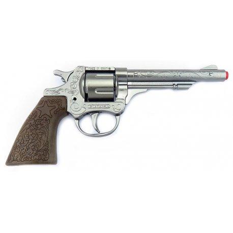 COWBOY Rewolwer na Kapiszony 8 Strzałowy - Gonher 80/0