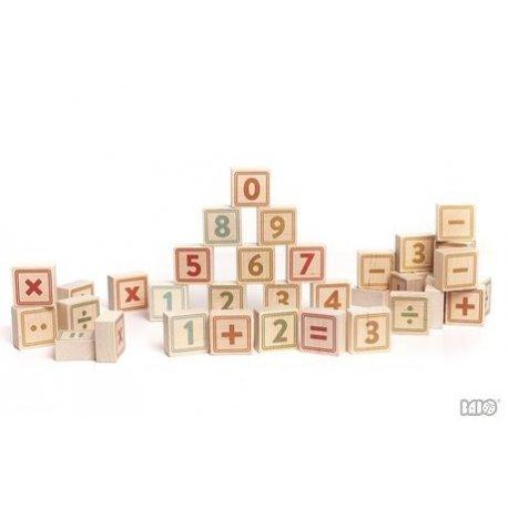 Bajo 91570 - Drewniane klocki - Cyfry i znaki
