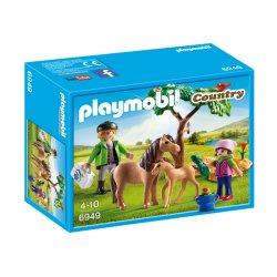 Playmobil 6949 - Kucyk mama ze źrebaczkiem