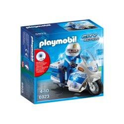 Playmobil 6923 - Motor policyjny ze światłem LED