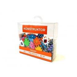 Klocki mini wafle - Konstruktor - 140 elementów