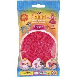Hama 207-32 - Kolor neon różowy - 1000 koralików