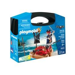 Playmobil 5655 - Przenośna walizka Tratwa piracka