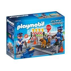 Playmobil 6924 - Blokada policyjna