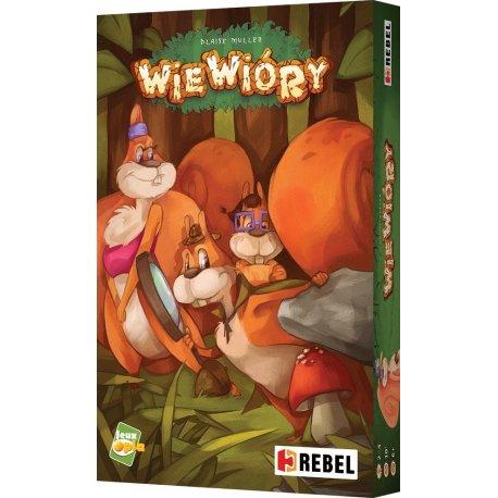 Gra Wiewióry - Wydawnictwo Rebel