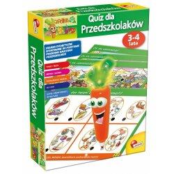 Lisciani P55029 - Quiz dla przedszkolaków 3-4 lata