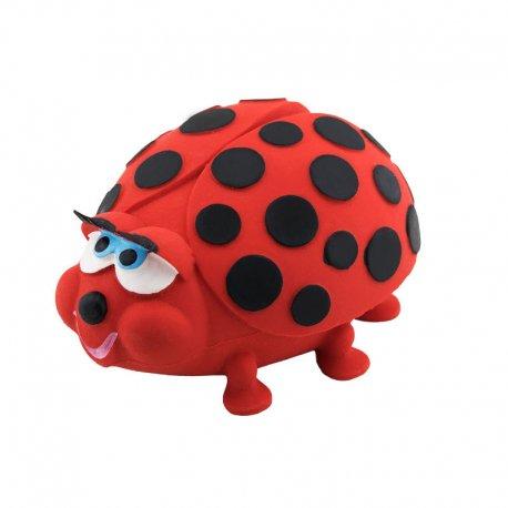 Biedroneczka - piszczek, zabawka sensoryczna - Lanco 1109