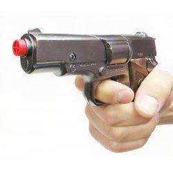 Pistolet na kapiszony Policyjny - GONHER 125/0 Srebrny