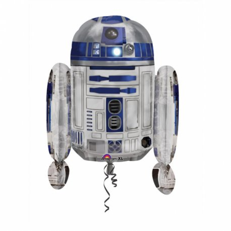 Balon Foliowy R2D2 Star Wars - Gwiezdne Wojny