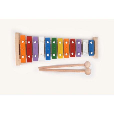 Polskie cymbałki dla dziecka - tradycyjne, 12 tonowe