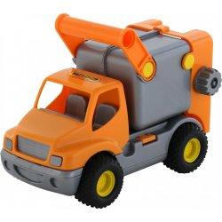 Samochód śmieciarka - Polesie Wader Quality Toys
