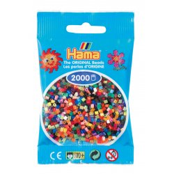 Hama mini 2000 koralików - Mix kolorów
