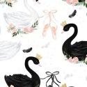 Kapelusz małej damy - Moonlight swan - La Millou