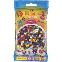 Hama 207-67 Dodatkowe koraliki midi - 1000 koralików mix