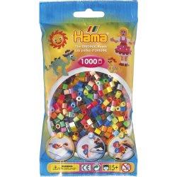 Hama 207-68 - Mix kolorów - 1000szt koraliki midi