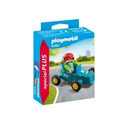 Playmobil 5382 - Chłopiec z gokartem