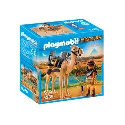 Playmobil 5389 - Egipski Wojownik z Wielbłądem Serii History