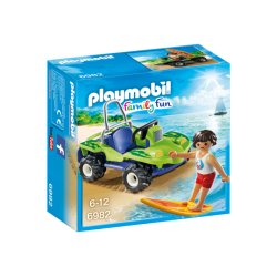 Playmobil 6982 - Surfer z quadem