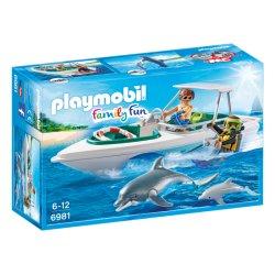 Playmobil 6981 - Nurkowie z motorówką