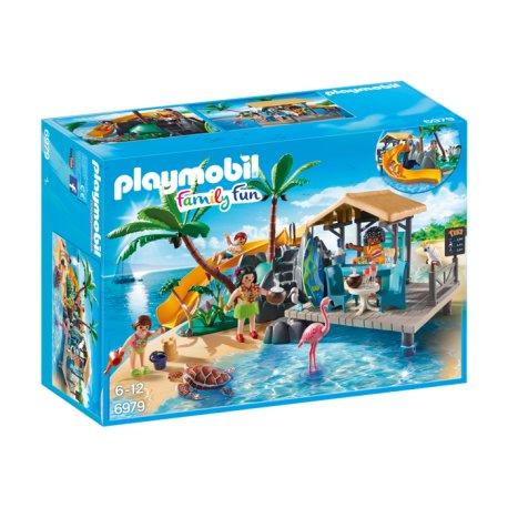 Playmobil 6979 - Karaibska wyspa z barem na plaży