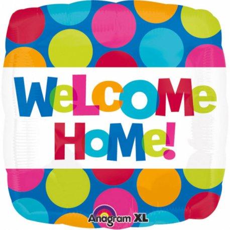 Balon foliowy WELCOME HOME 43cm - Witaj w Domu
