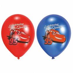 """6 balonów Cars (Samochody) - 11"""" 27,5 cm - balony lateksowe"""
