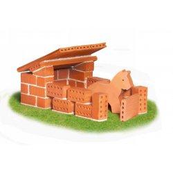 Zagroda z konikiem - Budowle z cegiełek - Teifoc1020