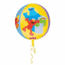 Balon foliowy Ulica Sezamkowa 38x40 cm