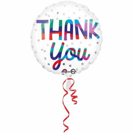 """Balon foliowy 18"""" Dziękuje"""