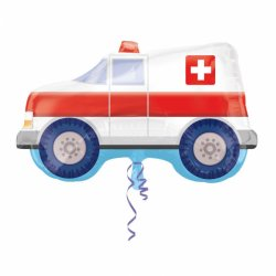 Balon foliowy Ambulans 50 x 83 cm