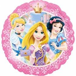 Balon Foliowy 45 cm - Księżniczki