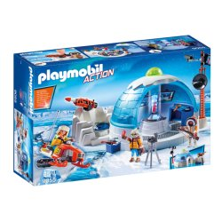Playmobil 9055 - Stacja polarna - Playmobil Action