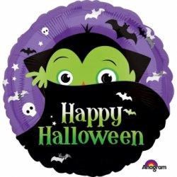 "Balon 17"" Wampir - Happy Halloween"