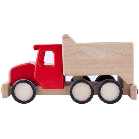 Drewniana Ciężarówka Wywrotka Tipper