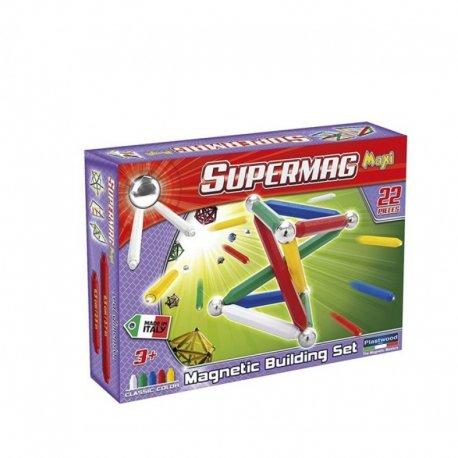 Supermag Maxi 22 el - Klocki magnetyczne