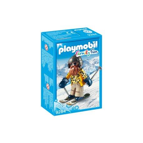 Playmobil 9284 - Narciarz na nartach snowblade