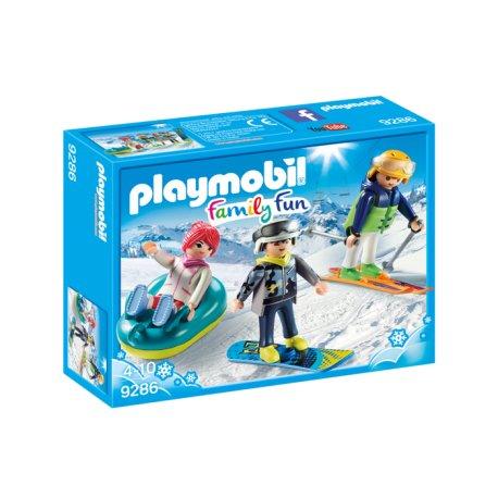 Playmobil 9286 - Sportowcy zimowi