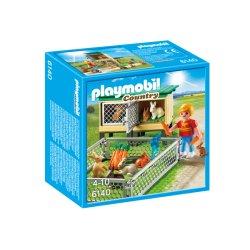 Playmobil 6140 - Klatka dla królików z wolnym wybiegiem