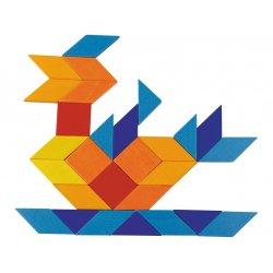 Układanka kolorowa mozaika - Haba 301222