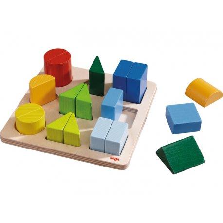 Haba 300498 - Klocki układanka magia kolorów