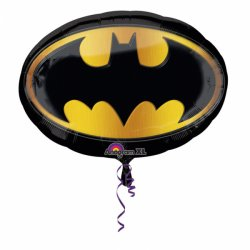 Batman Balon Super Shape XL Logo - 68 cm x 48 cm