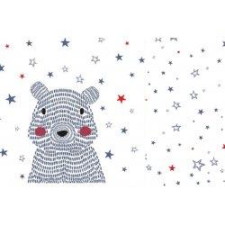 Pościel L - Galaxy bear bright, Galaxy star - La Millou