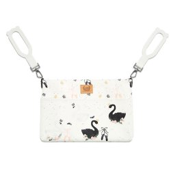Organizer do wózka PREMIUM - Moonlight swan - La Millou