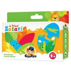 Puzzle CzuCzu a Kuku Safari - Zabawy Edukacyjne