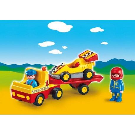 Playmobil 6761 - Wyścigówka z lawetą