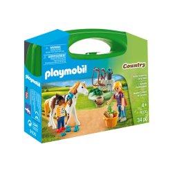Playmobil 9100 - Skrzyneczka Pielęgnacja Koni