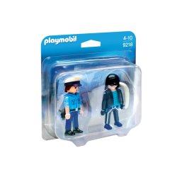 Playmobil 9218 - Duo pack Policjant i złodziej