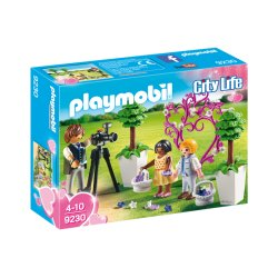 Playmobil 9230 - Fotograf i dzieci z kwiatkami