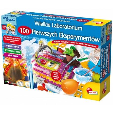 I'm a genius - Wielkie laboratorium 100 pierwszych eksperymentów - Lisciani PL57672