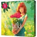 Kwiatki - Gra planszowa 2 graczy - Wydawnictwo Rebel
